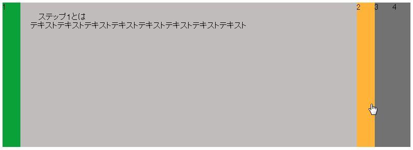 横アコーディオン-jQuery